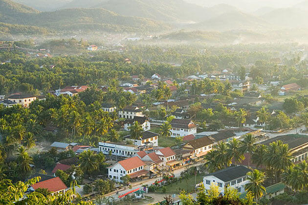 Luang prabang is one of the highlights in Myanmar Laos itinerary