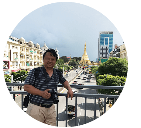 Mr Henry Le - Founder of Go Myanmar Tours