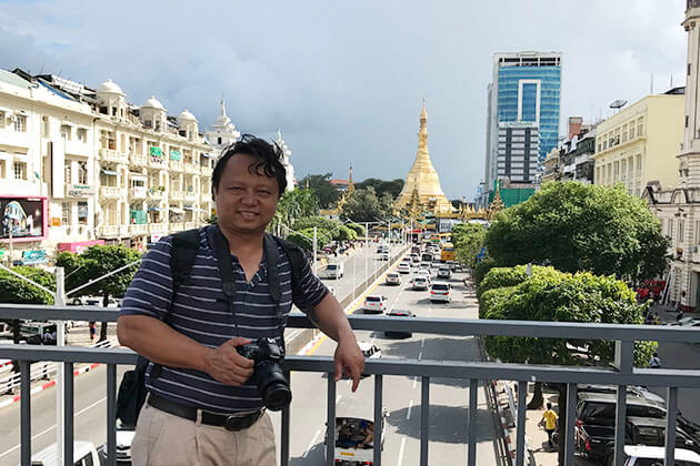 Mr Henry - Rounder of Go Myanmar Tours