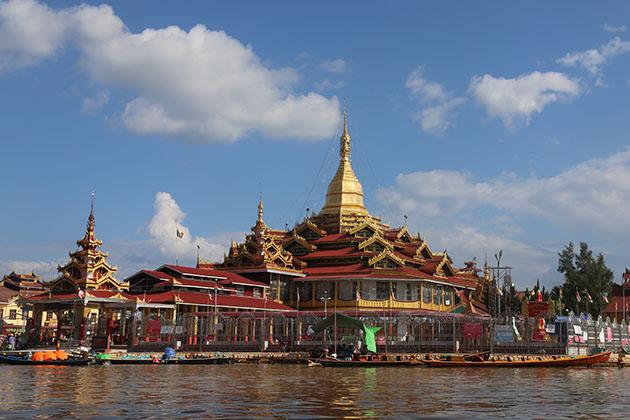 Phaung daw oo pagoda - the holiest site in inle lake