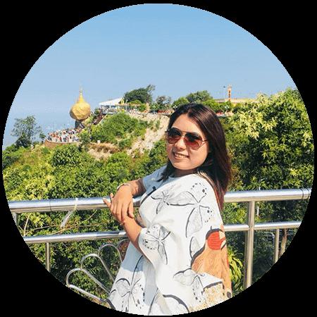 Sarah suboo Go myanmar tours sales executive