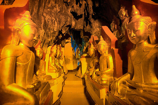 Shwe U Min Caves