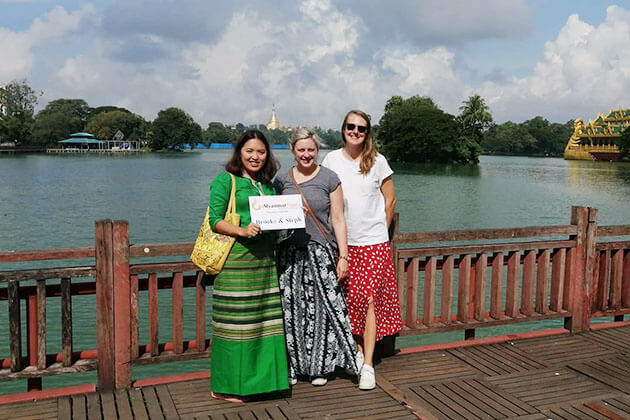 Feedback of Ms Brooke M Robson on Highlights of Myanmar Tour – 9 Days