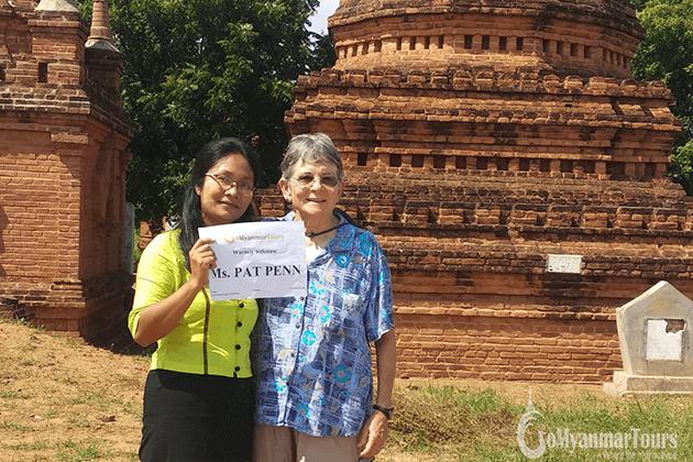 feedback of Ms Patricia Penn in Bagan