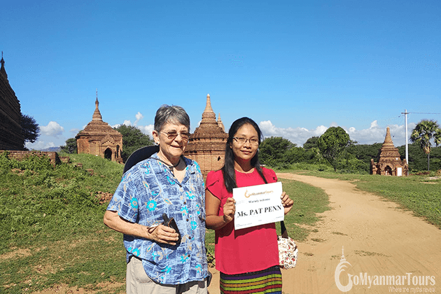 Feedback of Patricia Penn on A Glimpse Burma Tour – 4 Days