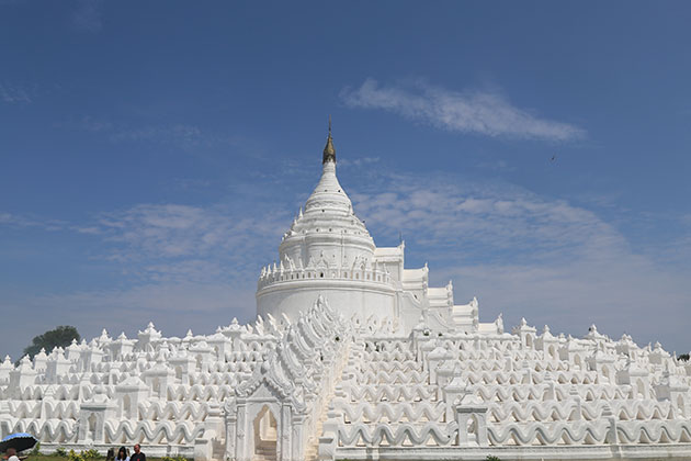 hsinbyume temple in mingun village