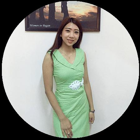 rachel - htoo tin nyaung oo - Go Myanmar tours sales executive