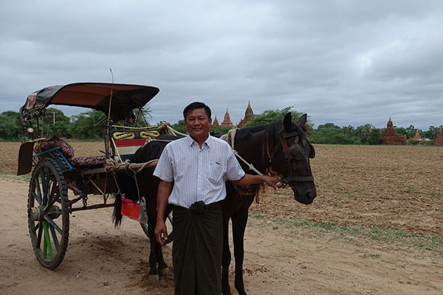 using local transportation to get around during 5 days in myanmar
