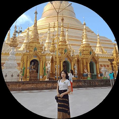wendy - Go Myanmar Tours marketing executive