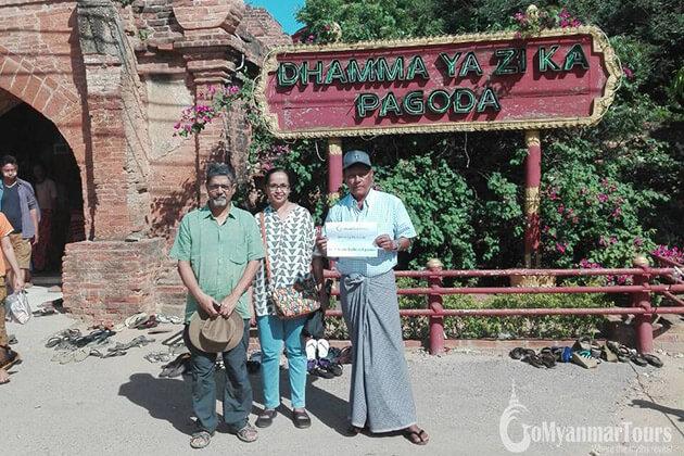 Vikram Joshi feedback on myanmar tour 6 days
