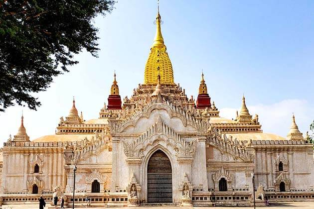 ananda temple best attraction for irrawaddy river cruise with strand cruise ship