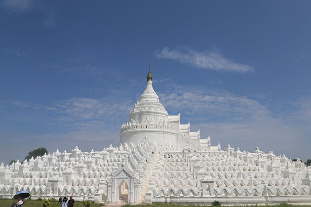 hsinbyume temple - attraction for myanmar cruises