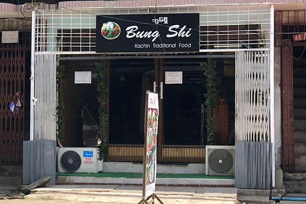 Bung Shi - best kachin restaurant in yangon