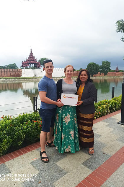 Mandalay tour feedback from Karin Smith
