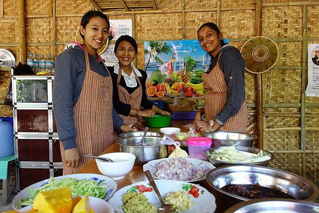 Bagan cooking class