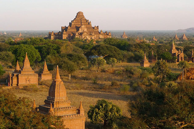 Bagan sunset view
