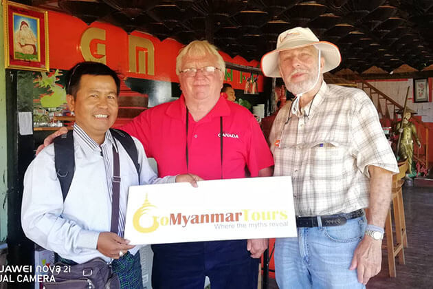 Go Myanmar Tours Team is With You Every Step of The Way!