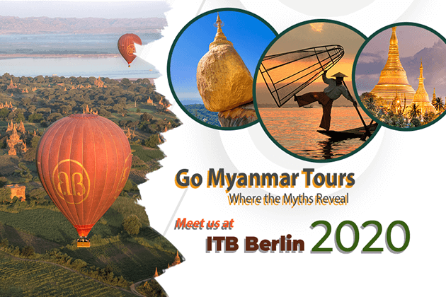 Go Myanmar Tours to Attend ITB Berlin 2020