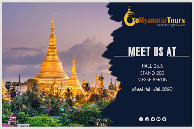 Meet Go Myanmar Tours to at ITB Berlin 2020