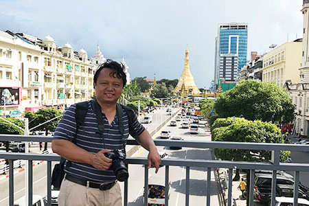 Mr Henry Le founder of Go Myanmar Tours