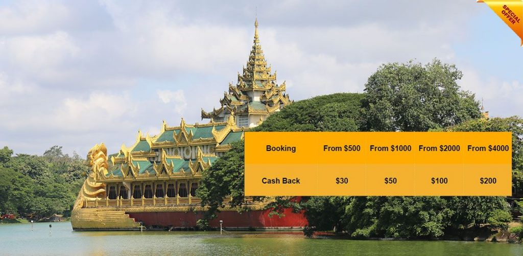 Myanmar tours summer promotion